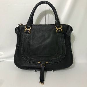 Authentic Chloe Large Marcie Black